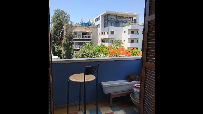 On Rothschild Boulevard 2 bedroom apartment